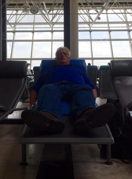 Chaise Lounges in the Airport